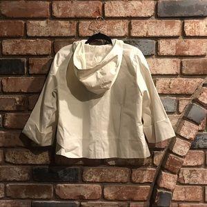Jones New York Jackets & Coats - JONES NEW YORK faux leather look white jacket